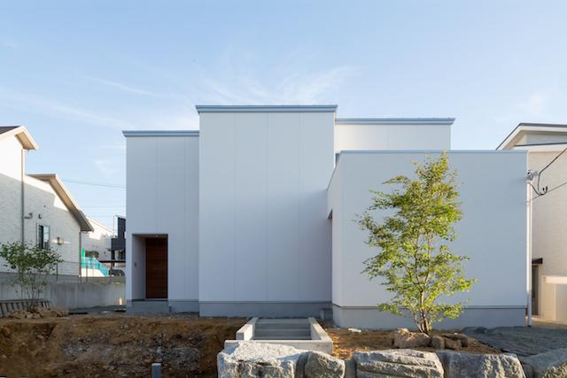 錦ヶ丘の家。